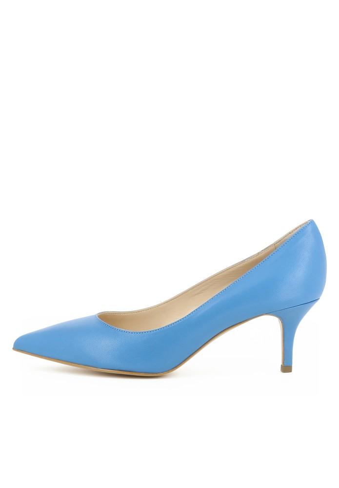 GIULIA blau - Glattleder