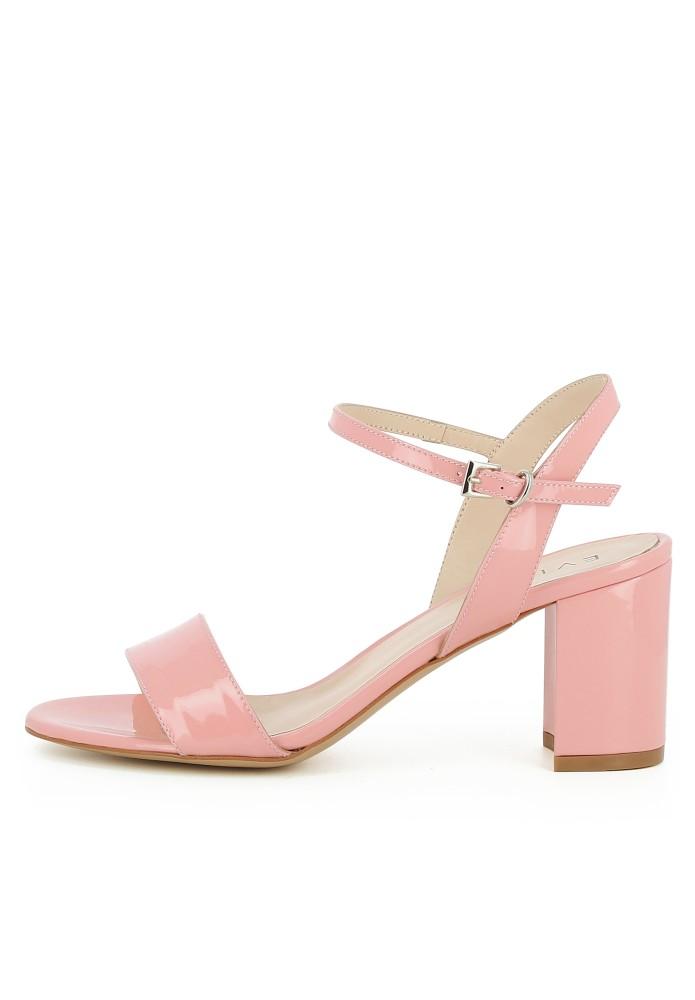 AMBRA rosa - Lackleder