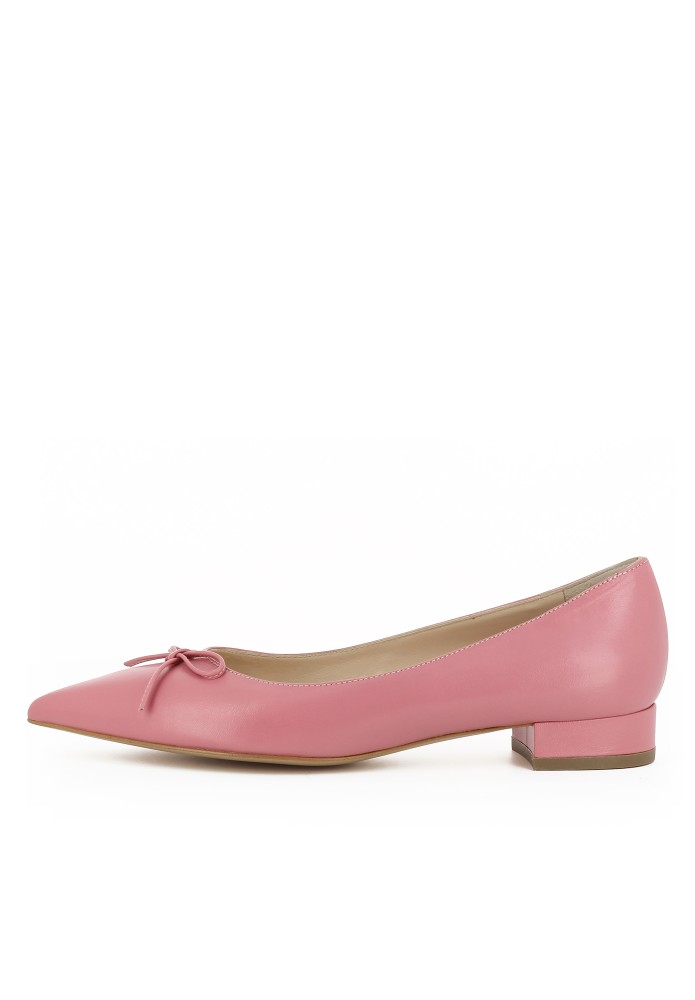 FRANCA rosa - Glattleder