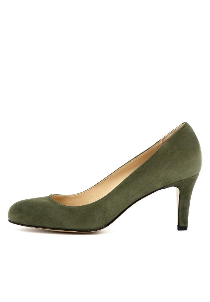 BIANCA grün - Rauleder