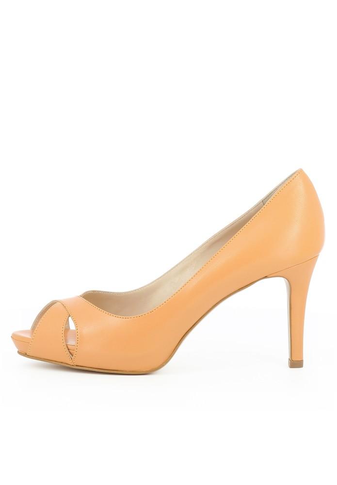 ELISA orange - Glattleder