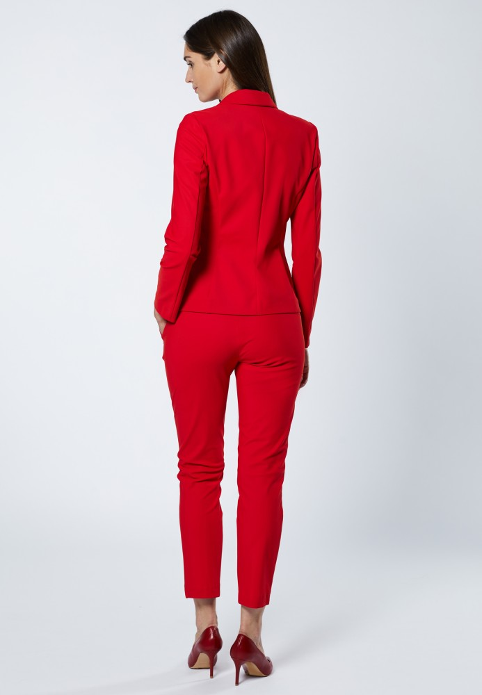 Jacke red - Stretch