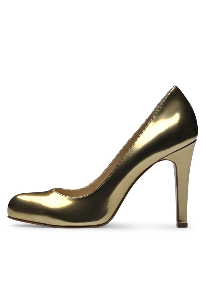 CRISTINA gold - Brushleder