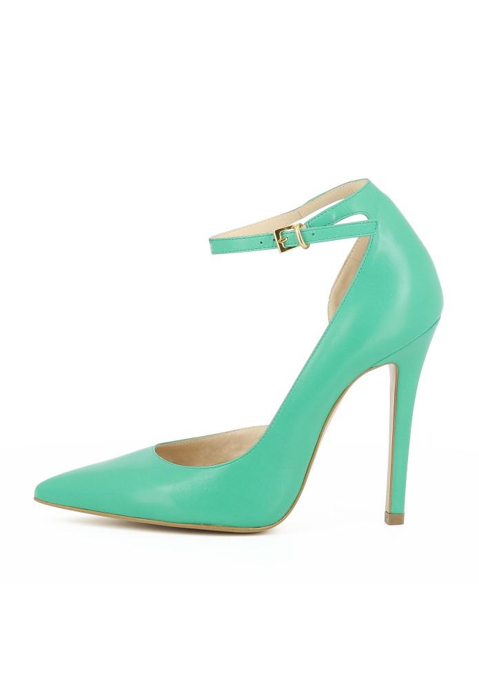 LISA grün - Glattleder