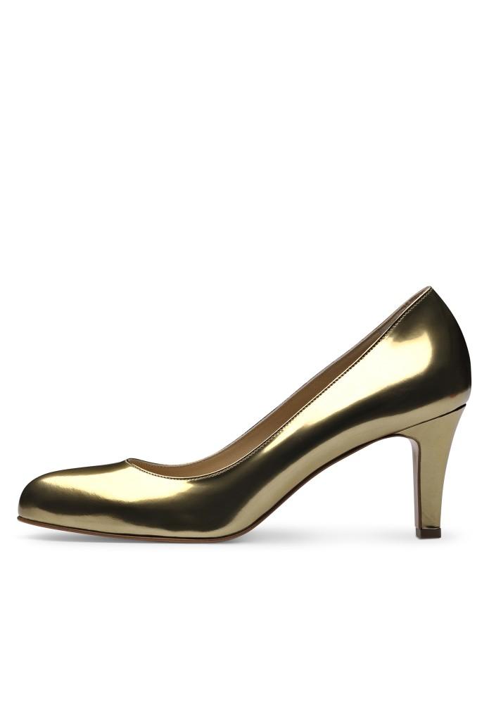 BIANCA gold - Brushleder