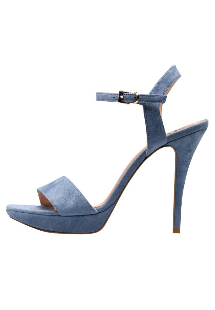 VALERIA blau - Rauleder