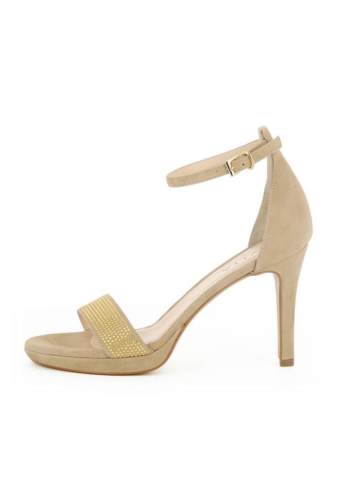 CANDIDA beige - Rauleder