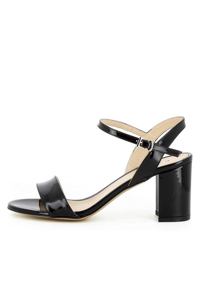 AMBRA schwarz - Lackleder