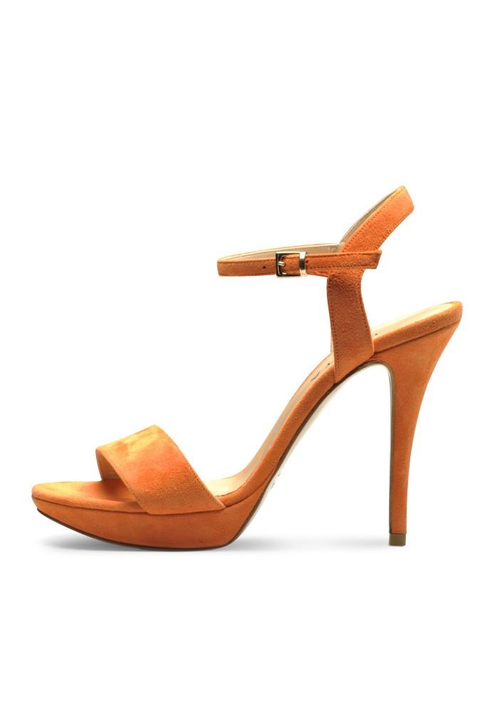VALERIA orange - Rauleder