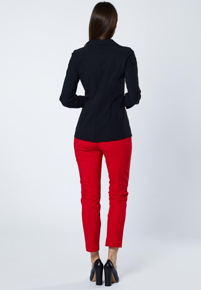 Hose lang red - Stretch