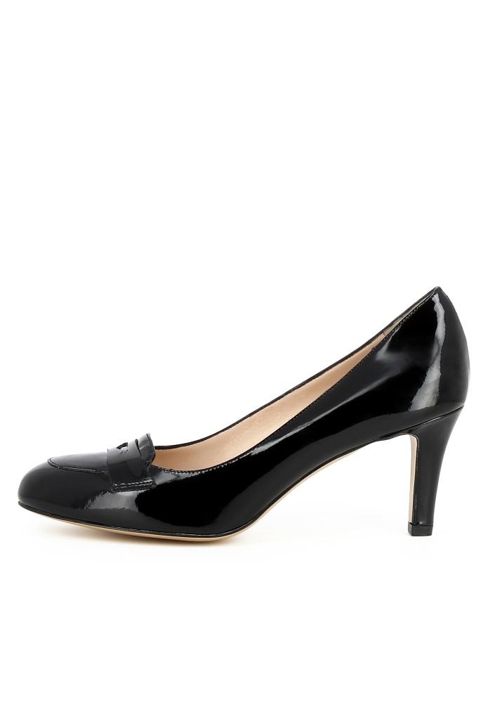 BIANCA schwarz - Lackleder