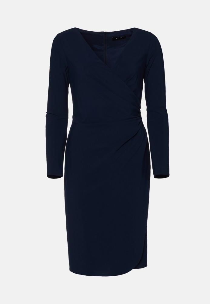 Kleid kurz navy - Stretch