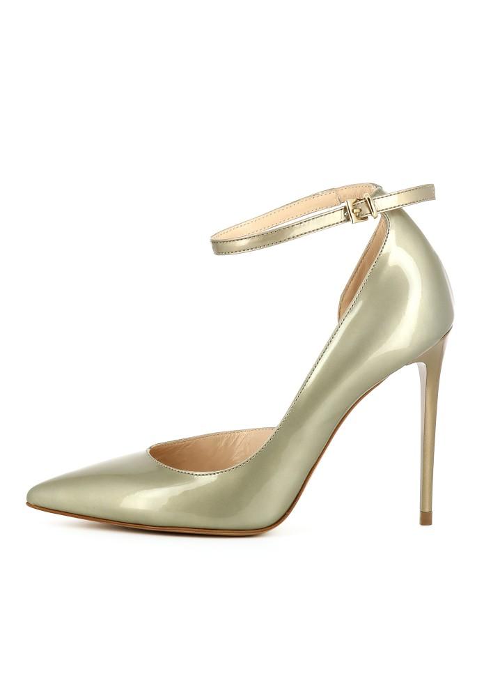 ALINA gold - Lackleder