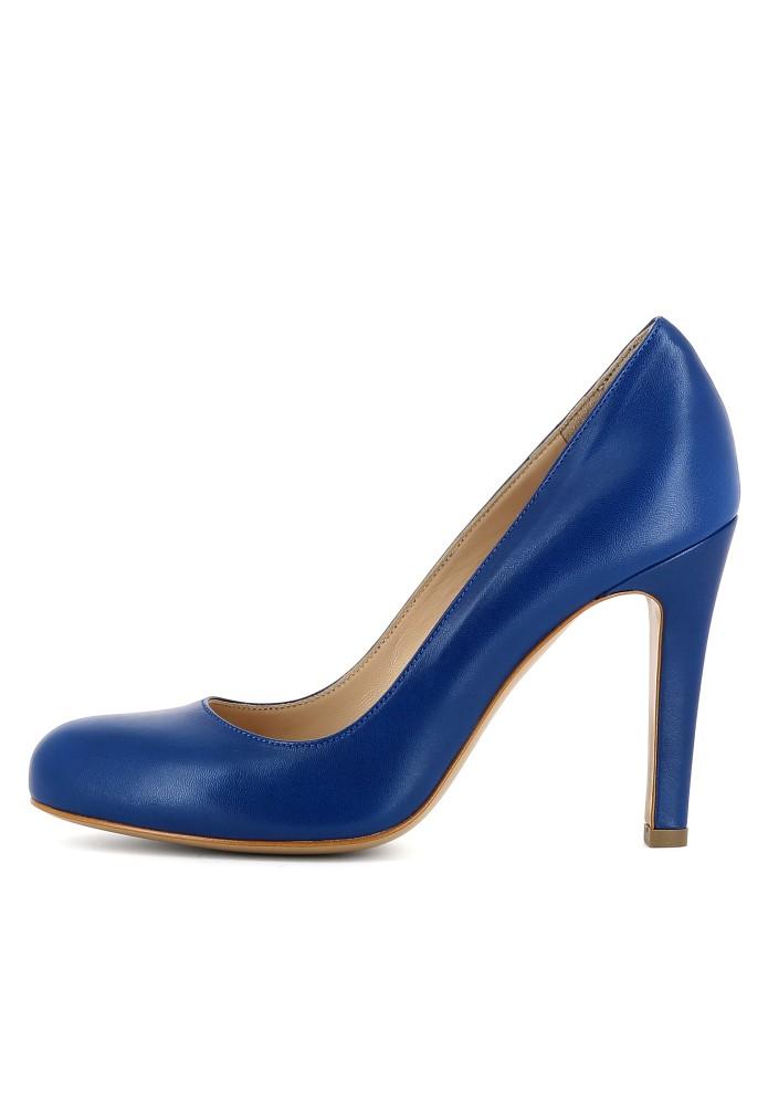 CRISTINA blau - Glattleder