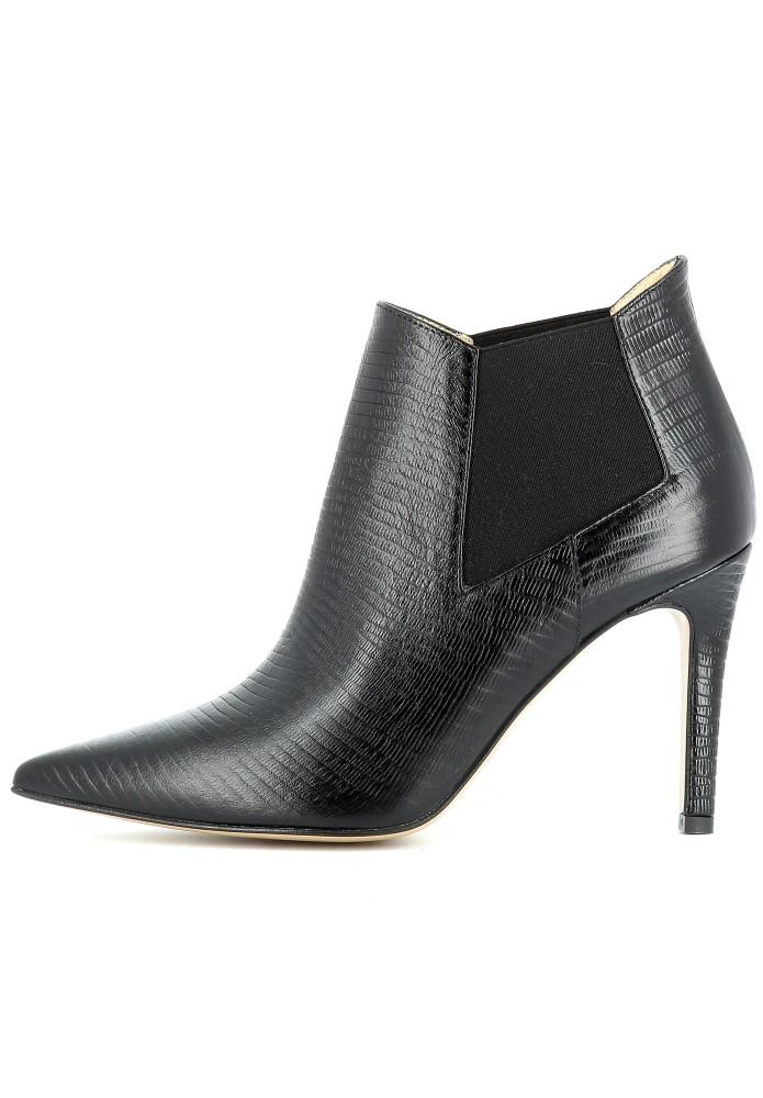 NATALIA schwarz - Geprägtes Leder