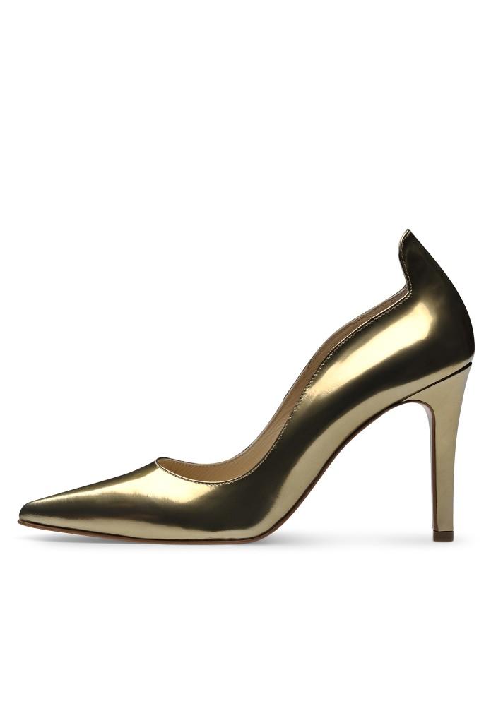 NATALIA gold - Brushleder