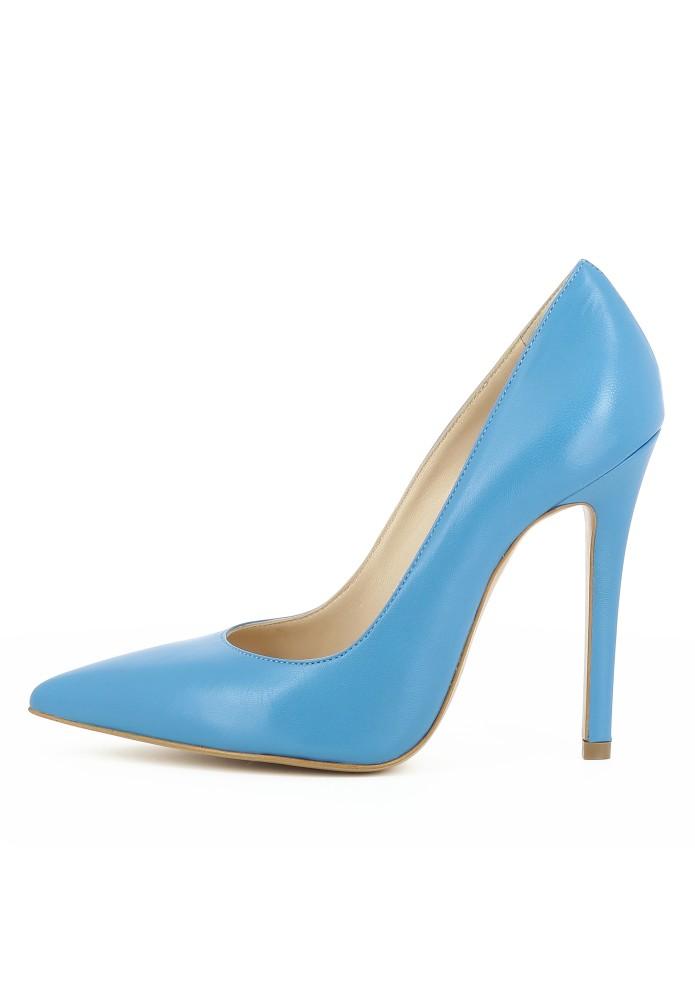 LISA blau - Glattleder