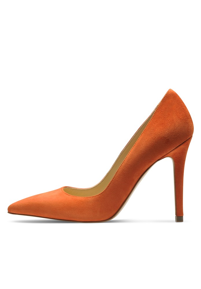 ALINA orange - Rauleder