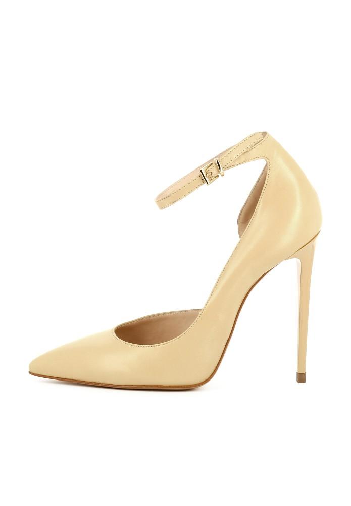 LISA beige - Glattleder
