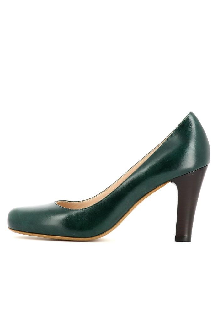MARIA dunkelgrün - Glattleder