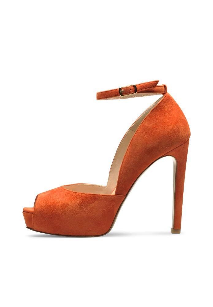 BEPPINA orange - Rauleder