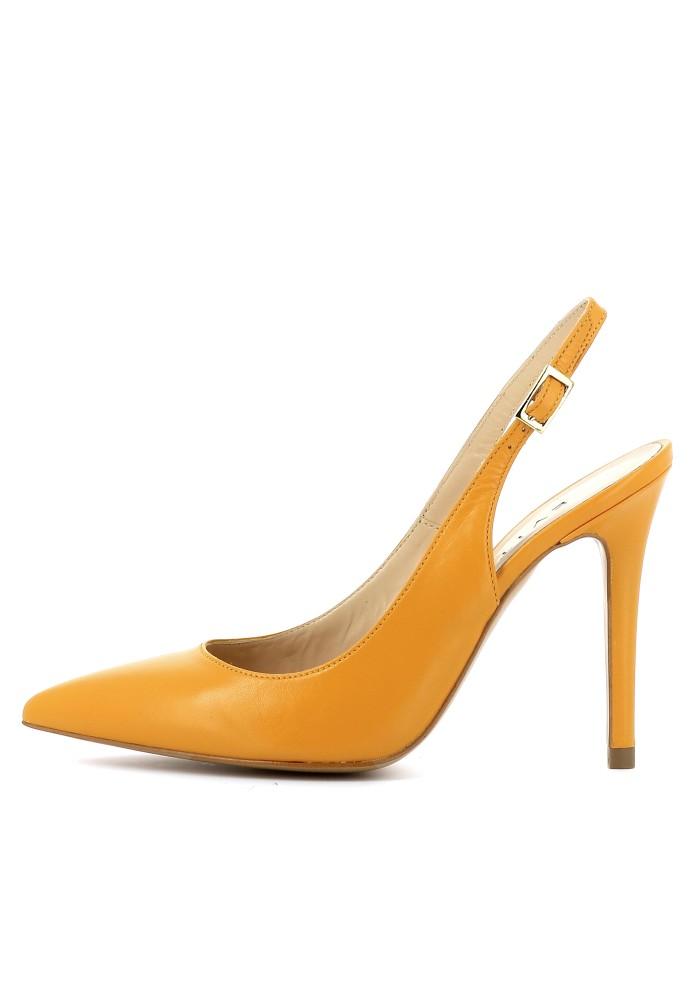ALINA orange - Glattleder