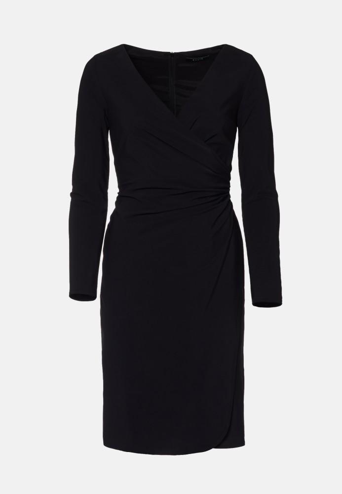 Kleid kurz black - Stretch